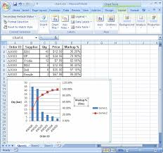 Ms Excel 2007 Create A Chart With Two Y Axes And One Shared