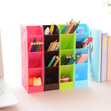plastic office desk. 4pcs/set Candy Color Office Desk Organizer Stationery Holder Multifunctional Plastic Pen Box For D