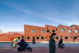 A Rust-<b>Red Honeycomb</b>: Children's Centre in Amsterdam - DETAIL ...