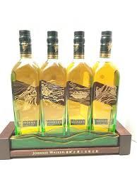 Classic Malts Display Stand Johnnie Walker Green Label Limited Edition Taiwan Wonders 62