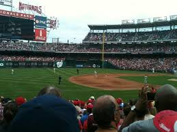 Nats Stadium Seating Chart Views View From My Seat Picture Of Nationals Park Washington Dc