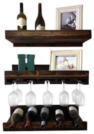 wine glass rack pottery barn. Shop Wall Mounted Wine Glass Shelf Products On Houzz Rack Pottery Barn E