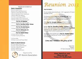 Family Reunion Letter Template Best Of Family Reunion Programme