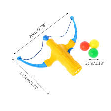 <b>1 Set</b> Mini <b>Bow Slingshot</b> Gun With 3 Ball Child Kid Boy Party Xmas ...