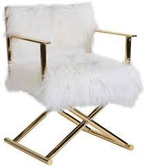 interior mongolian fur white chair cfs uk creative 11 mongolian fur chair
