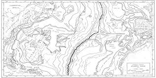 Hubbard Scientific Physiographic Chart Of The Seafloor The Floors Of The Oceans 1 The North Atlantic By Bruce C