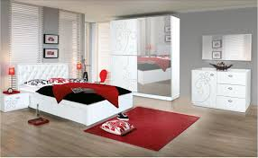 Master Bedroom With White Furniture Red Master Bedroom Nice Master Bedroom With Red Curtains On