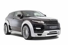 Hamann Evoque based on the Range Rover Evoque