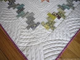 567 best Quilts: Borders and Binding images on Pinterest ... & The curved quilting on the border and the pieced rectangle interior border! Adamdwight.com