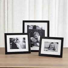 Matte Black Picture Frames