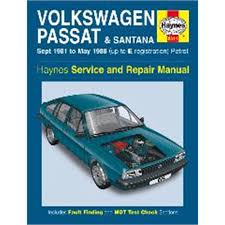 haynes diy work manuals haynes manual volkswagen passat and santana petrol sept 81