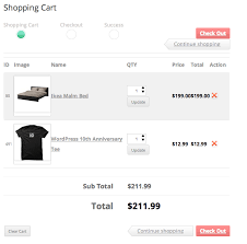 wordpress shopping carts wordpress ecommerce ready shopping cart review sell with wordpress