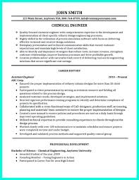 Nice Successful Objectives In Chemical Engineering Resume Check