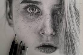 Ritratti Iperrealistici Larte Della Matita Di Monica Lee