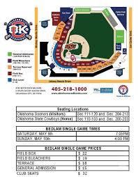 Bedlam Baseball Tickets On Sale Oklahoma City Dodgers News