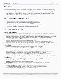 Telecom Project Manager Resume Examples Unique Photos Standard