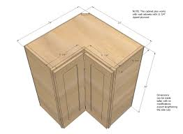 wall corner pie cut kitchen cabinet diy projects