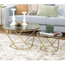silver orchid grant geometric glass nesting coffee tables table ikea