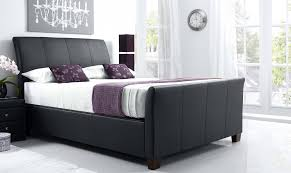 Ottoman For Bedroom Rebecca Ottoman Bed Black Leather All Beds Fishpools