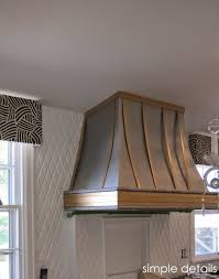 winsome range hood cover diy plans vent metal ideas covers fascinating decorative kit wood design kitchen stunning kitchens astounding charming 36 hitster