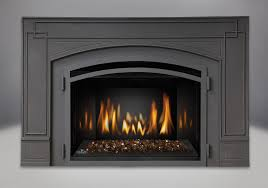 amber crystaline ember bed mirro flame porcelain reflective radiant panels cast iron surround kit