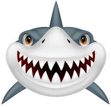 smiling shark clipart. Perfect Smiling Shark Clip Art Black And White Free Clipart Image 4 On Smiling Clipart