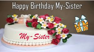 happy birthday my sister image wishes
