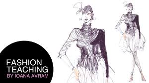 drawings fashion designs how to draw fashion sketches youtube