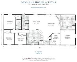 4 Bedroom Modular Home Plans Floor Plans For Modular Ranch Waterfront Homes  One Story Modular Home . 4 Bedroom Modular Home Plans ...
