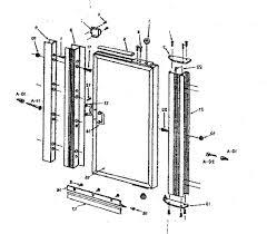 patio door replacement parts sliding glass door parts epic sliding door locks