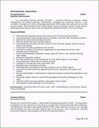 Profile Section Of Resume Impressive Inspirational Stocks