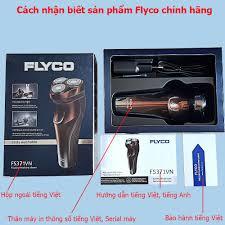 Mã FMCG30 giảm 10% đơn 199K] Máy cạo râu Flyco 3 lưỡi dao có chức năng tỉa  tóc mai FS330VN - FS360VN - FS371VN, Giá tháng 1/2021