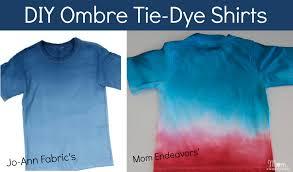 diy ombre t shirts summerofjoann