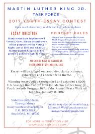 voting essay youth essay contest dr martin luther king jr task  youth essay contest dr martin luther king jr task force inc form here importance of voting