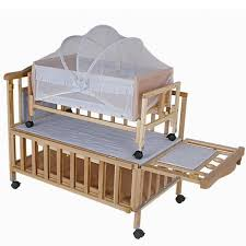 newborn baby wooden baby cot images