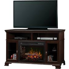 dimplex brookings media console electric fireplace logset
