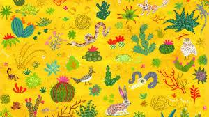 Yellow Aesthetic Desktop Wallpaper Bee ...