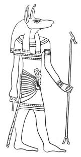 Egyptain Patterns To Color Gods Of