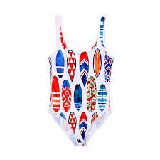 Walmart Swimsuit Size Chart Family Matching Swimwear Printed Mommy And Me One Piece Swimsuit