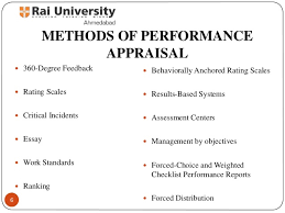 methods of performance appraisal principles of human resource manag   6 methods of performance