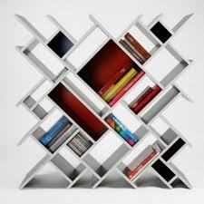 furniture home white contemporary bookcase white contemporary