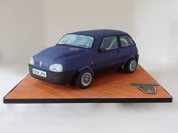 Rover Metro Ascot 3d Car Cake Cake By Angel Cake Design Cakesdecor
