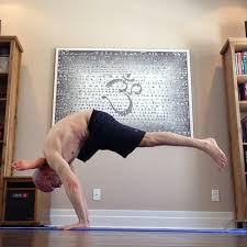 behind yoga inspiration yoga poses crow raven