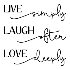 Live Laugh Love Quotes Extraordinary Live Laugh Love Bellwethers Wall Quotes™ Decal WallQuotes