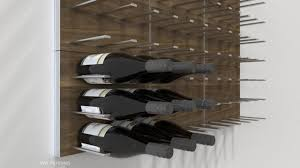 STACT Modular Wall-mounted Wine Rack System - Commercial-grade Design modern -living