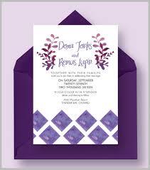 Wedding Invitations Templates Purple 16 Purple Invitation Templates Psd Ai Free Premium Templates