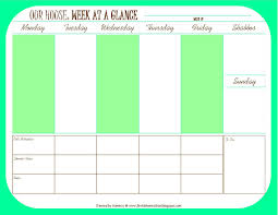 Weekly Meeting Calendar Template Calendar Maker Creator For Word And Excel Schedule Template Boot