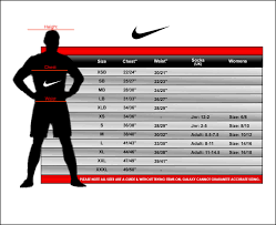 Nike Football Size Chart Nike Glove Size Chart Football