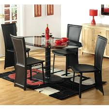Dining Tables Black Glass Oval Dining Table V And Chairs Room