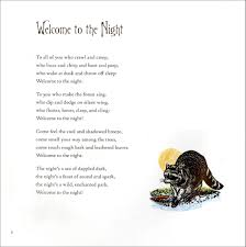 Small Picture Great Books for Children Nature Poetry and Animals of the Night